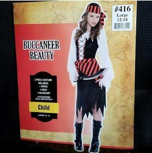 Other - Buccaneer Beauty Pirate Halloween Costume